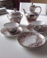 Superbe et rare partie de service en porcelaine de Sèvres XIXème