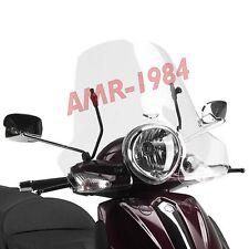 PARABREZZA CUPOLINO COMPLETO PIAGGIO BEVERLY TOURER 125-250-300-400 106A + A106A
