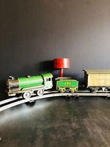 Vintage Hornby O Gauge Locomotive Train Set and Accessories