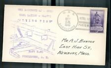 USS Barracuda Keel Laying Postal Commemorative Cover December 6 1940