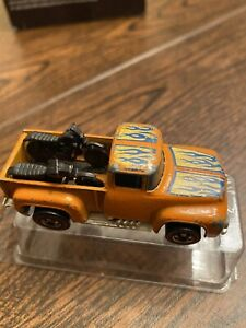 hot wheels 1973 red line hi tail hauler 56 ford Truck With Motorcycles