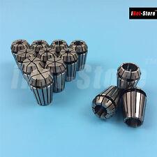 13PCS ER20 Spring Collet Set For CNC Workholding Engraving & Milling Lathe Tool