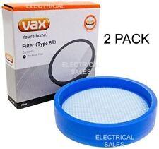 VAX CORDLESS VACUUM CLEANER PRE MOTOR FILTER TYPE 88 1113416200 2 PACK GENUINE