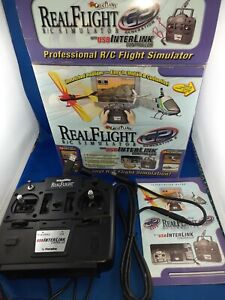 Real Flight R/C Pro Flight Simulator Great Planes with USB Interlink Controller