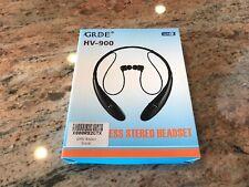 Hv-900 Black Wireless Bluetooth / Hands Free Headset - Bluetooth Headset