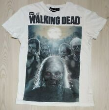 T-SHIRT BLANC HOMME COLLECTION SERIES CULTES WALKING DEAD 193