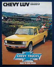 Prospekt brochure 1979 Chevrolet Chevy LUV Pickup Series 9 (USA)