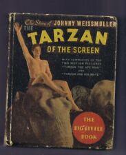 Story of Johnny Weissmuller Tarzan VINTAGE 1934 Whitman Big Little Book 778