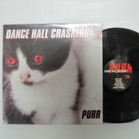 DANCE HALL CRASHERS - PURR LP 1999 US ORIG PINK & BLACK SKA VOODOO GLOW SKULLS