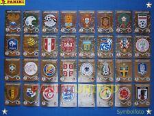 Panini★WM 2018 WC 18 World Cup★ Komplett-Satz Wappen / complete set badges