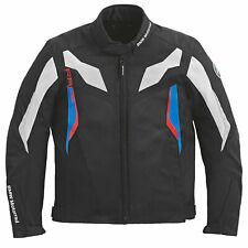 BMW Motorrad Raceflow Mens Summer Cordura Motorcycle Jacket Black Medium