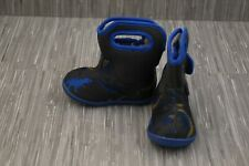 ** Bogs Baby Dino 72165I-074 WP Boots - Toddler Boy's Size 5, Blue