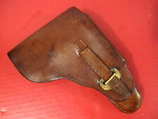 Wwi Era Bulgarian Leather Holster for the Fn Browning Model 1903 Pistol- Rare #2