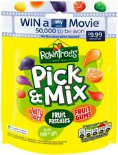 Rowntree's Pick & Mix  - Jelly Tots, Fruit Pastilles, Fruit Gums - 120g