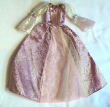 Mattel Barbie Doll Disney Princess Barbie RAPUNZEL DRESS PRINCESS GOWN