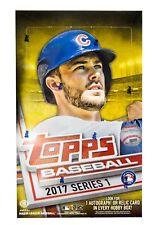 2017 Topps Series 1 Baseball Hobby Box