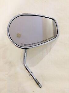 Harley-Davidson OEM Mirror Chrome Short Stem Right Only