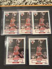 1990-91 Fleer Michael Jordan 5 Card Lot Nice Shape