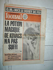 FRANCE FOOTBALL 1540 14/10 1975 RDA-FRANCE KOVACS BATHENAY ASSE GLASGOW RANGERS
