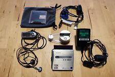 Sony MZ-NH1 Tragbarer MiniDisc-Rekorder (Hi-MD), silber, OVP
