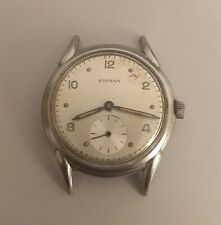 Vintage Eterna Wristwatch. Radium Dial. 35mm Case.