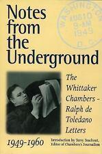 Ralph de Toledano~NOTES FROM THE UNDERGROUND~SIGNED 1ST/DJ~NICE COPY