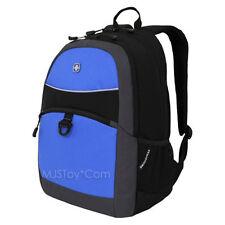 c89c3f24038b NEW Swiss Gear Swiss Army Knife Maker Black Blue Tablet Bag School Backpack