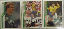 BRAZIL BRASIL UPPER DECK WORLD CUP USA 94 FOOTBALL TRADING CARDS x 8, inc FOIL