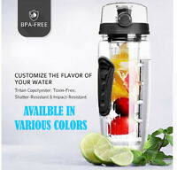 1L Fruit Infuser Water Bottle Infusion Detox Drink Lemon Tea Cup Juice Infusing