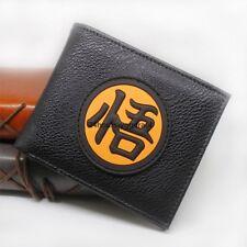 Anime DRAGON BALL Z New Fashion Goku PU Leather Wallet Black Great Gift