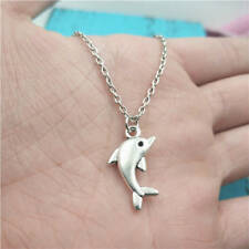 Dolphin,Dolphin Necklace,Silver handmade necklace,Fashion charm jewelry pendants