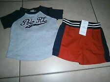 Ralph Lauren Graphic Clothing (0-24 Months) for Boys