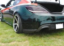 REV Carbon Fiber For Hyundai Genesis Rohens Coupe 09 Rear Bumper Spat Add on Kit