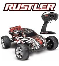NEW Traxxas 37054-4 Rustler XL-5 1/10 2WD RC Stadium Truck RED Edition - FREE SH