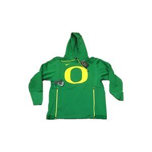NWT NEW Oregon Ducks Nike Men's Therma Logo Pullover Hoodie Sweatshirt Small