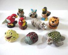Lot 100 Large Animal Peruvian Ceramic Bead Clay Mixed Model Handmade New Ar Peru