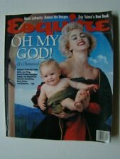 Dec 1991 Esquire Magazine Madonna Photograph Cover