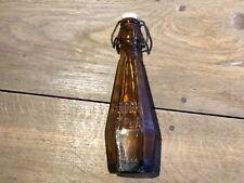 tres rare bouteille de biere BOCK MONTPLAISIR TOULOUSE (octogonale)