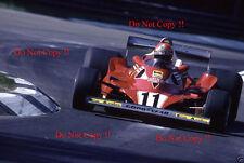 Niki Lauda Ferrari 312 T2 Italiana Grand Prix 1977 fotografía 3
