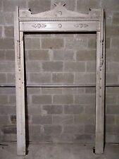 ~ ANTIQUE CARVED WALNUT DOOR ~ WINDOW MOLDING FRAMEWORK ~ ARCHITECTURAL SALVAGE