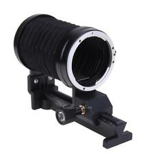 140*110*70mm Single Macro Extension Bellows Tube for Canon Mount Camera Black