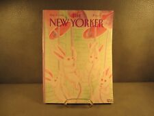 The New Yorker Magazine March 27,1989 MINT Condition Charles Addams Cover