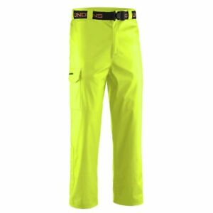 L Yellow Grundens Neptune 219 Commercial Fishing Sport Rain Waist Trousers Pants