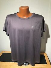 Mens Under Armour Heat Gear S/S Athletic T-Shirt Size 2Xl Xxl Brown - Polyester