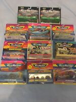 Micro Machines, Galoob, 10x Vehicle Sets, Good Condition, BNIB, Free Postage