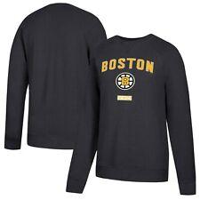 NHL Boston Bruins CCM Fleece Pullover Sweatshirt - Black Size L NEW W/TAGS