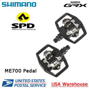 Shimano GRX PD-ME700 SPD Trail Pedal Pair Gravel Bike SLX M7100