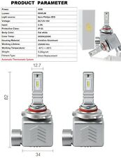 2 bulbs Set Upgrade Xenon White CREE 9006 HB4 LED Fog Light Bulbs BMW E46 330ci