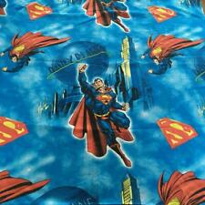 Vintage DC Comics Superman Full Sized 4-Piece Bed Sheet Set