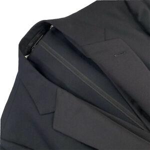 Bespoke 44 R Henry Poole & Co Savile Row 5 Piece Black Wool Tuxedo Set